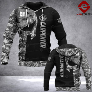 CARPENTER PUNISHER CAMOUFLAGE LMT HOODIE