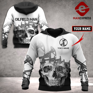 Copy of CUSTOMIZE OILFIELD T LMT 3D PRINT HOODIE PTN1612