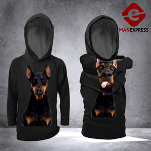 LMT Doberman Awesome ARM 3D Printed Hoodie