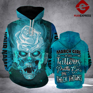MPP March Girl Hoodie 3D Customize