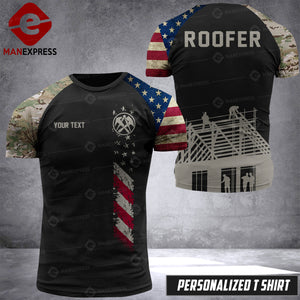 VH Customize ROOFER T-SHIRT 3D ALL PRINTED 3107 HVQ
