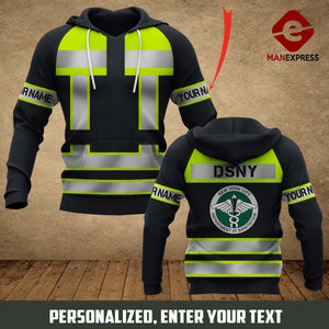 DSNY - The City of New York Department of Sanitation 3D printed hoodie MPP3