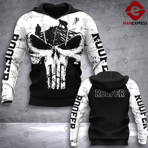 MTP Roofer 3D HOODIE PUN WHITE