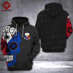 MH 1609 PHILIPPINE HOODIE PRINTED