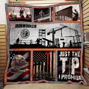 DH SUPER IRONWORKER BLANKET OVER PRINT