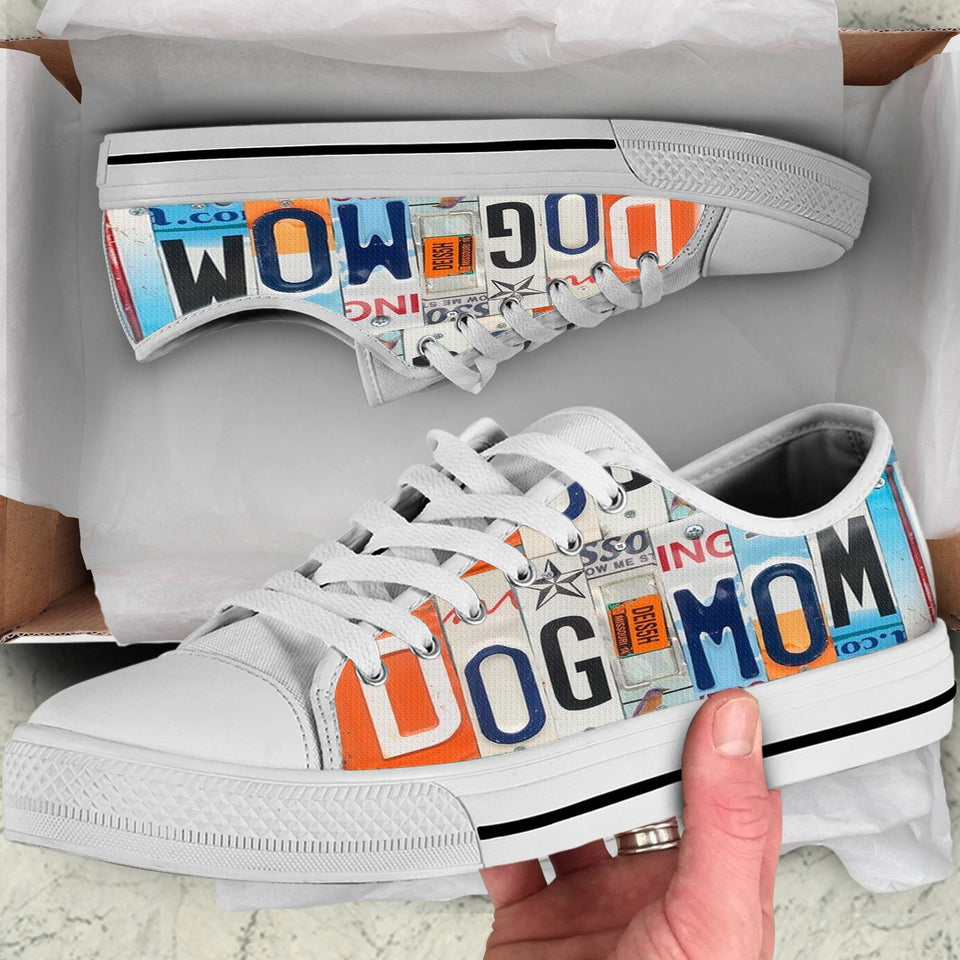 DOG MOM - LOW TOP SHOES