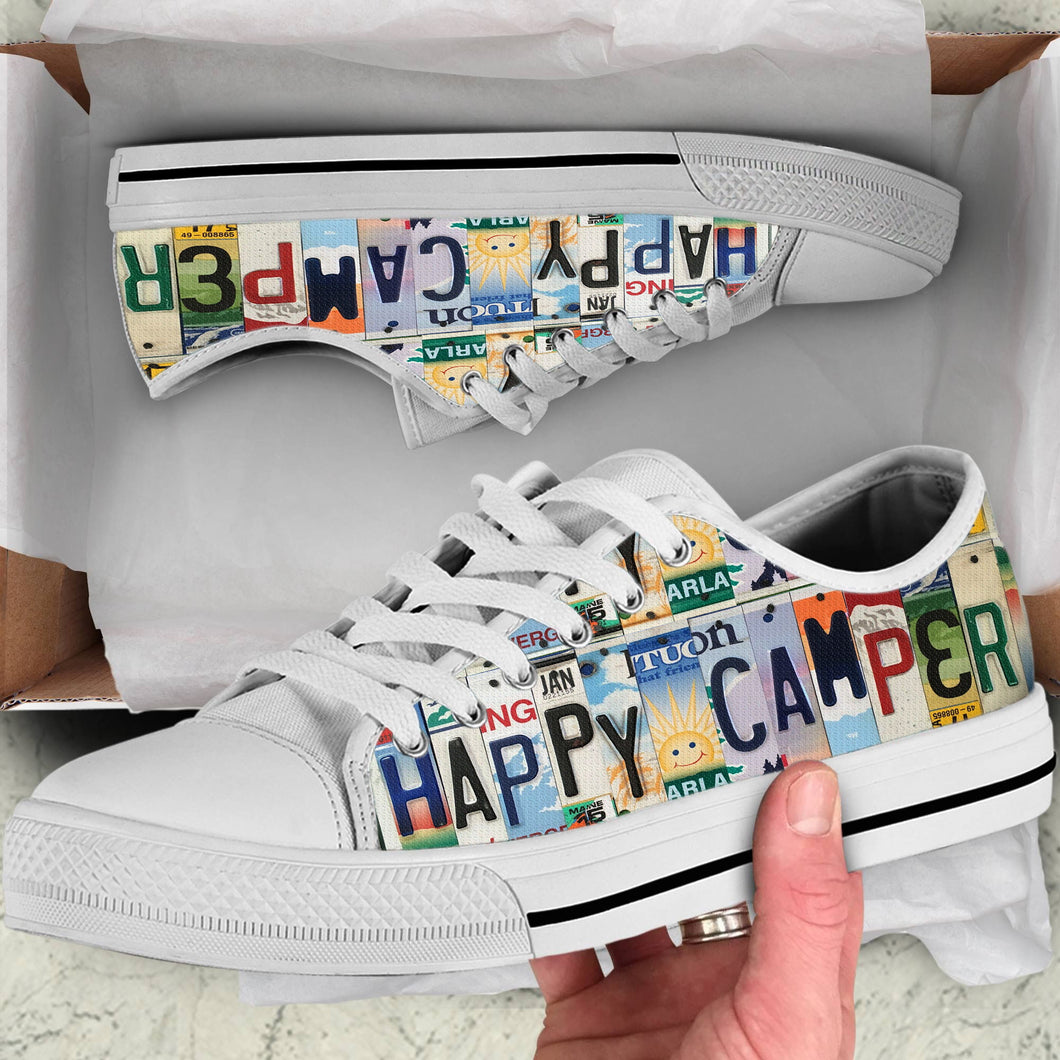 HAPPY CAMPER - LOW TOP SHOES