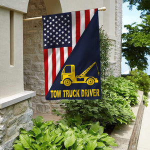 Tow Truck Driver Flag
