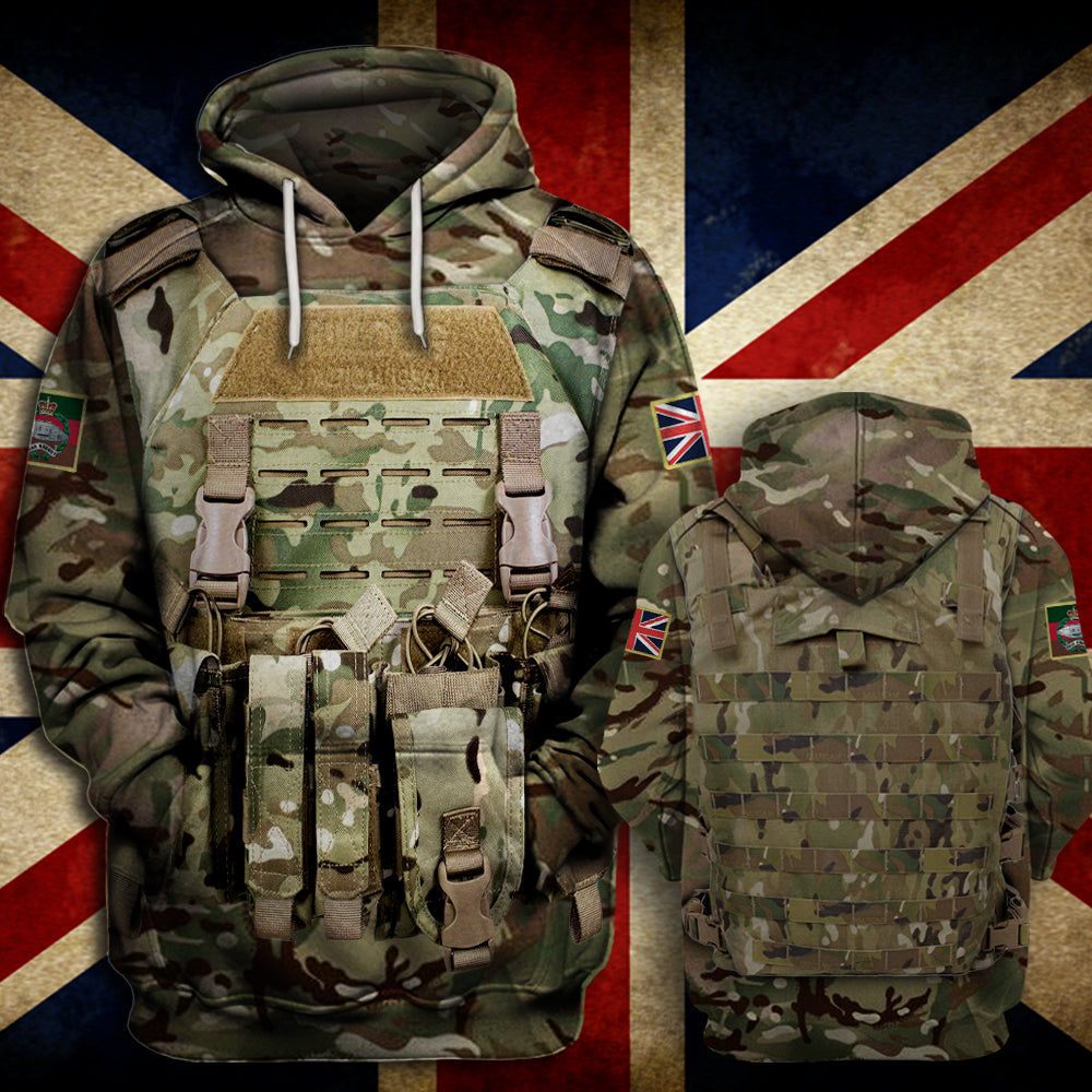 Royal Tank Regiment Hoodie Limited Edition