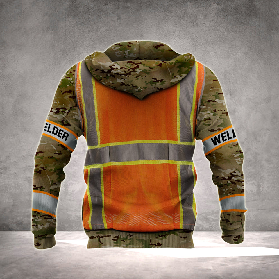 WELDER HOODIE VH 3D ALL OVER PRINT