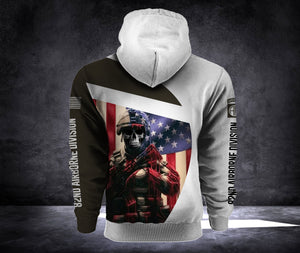 82ND 3D ALL OVER PRINT HOODIE
