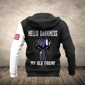 VH HELLO DARKNESS HOODIE 3D ALL PRINT