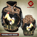 VH CUSTOMIZE ROOSTER 2112 - 3D ALL OVER PRINT