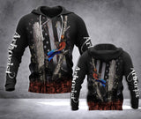 TT Arborist 3D all over printed hoodie JMG