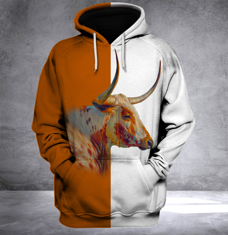 Texas Longhorn  Cow Limited Edition Hoodie