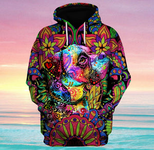 Hoodie Boxer Hippie