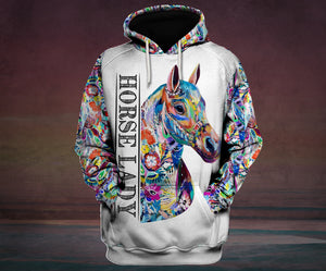 Hoodie Horse Mix