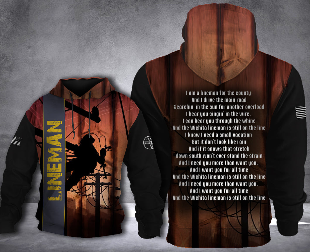 LINEMAN HOODIE SONG HOODIE LIMITED EDITION2