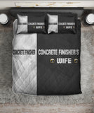 Concrete finisher BEDDING SET