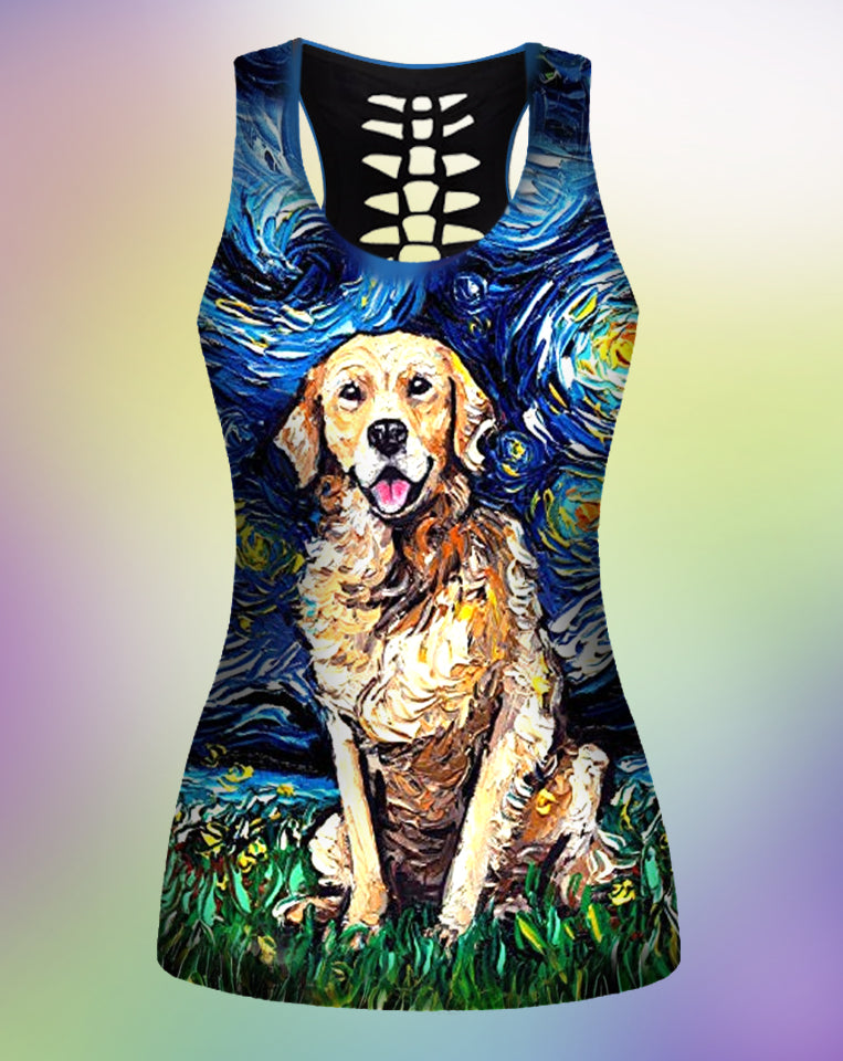 Golden Starry Night TankTop