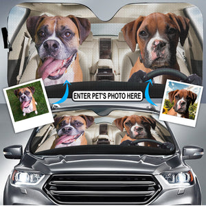 CUSTOMIZE DOGS DRIVER - AUTO SUN SHADE