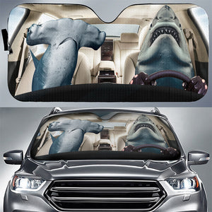 SHARK - AUTO SUN SHADE - CAR DRIVER