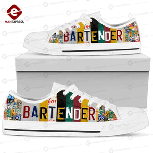 Bartender 3D printed low top shoes SLP