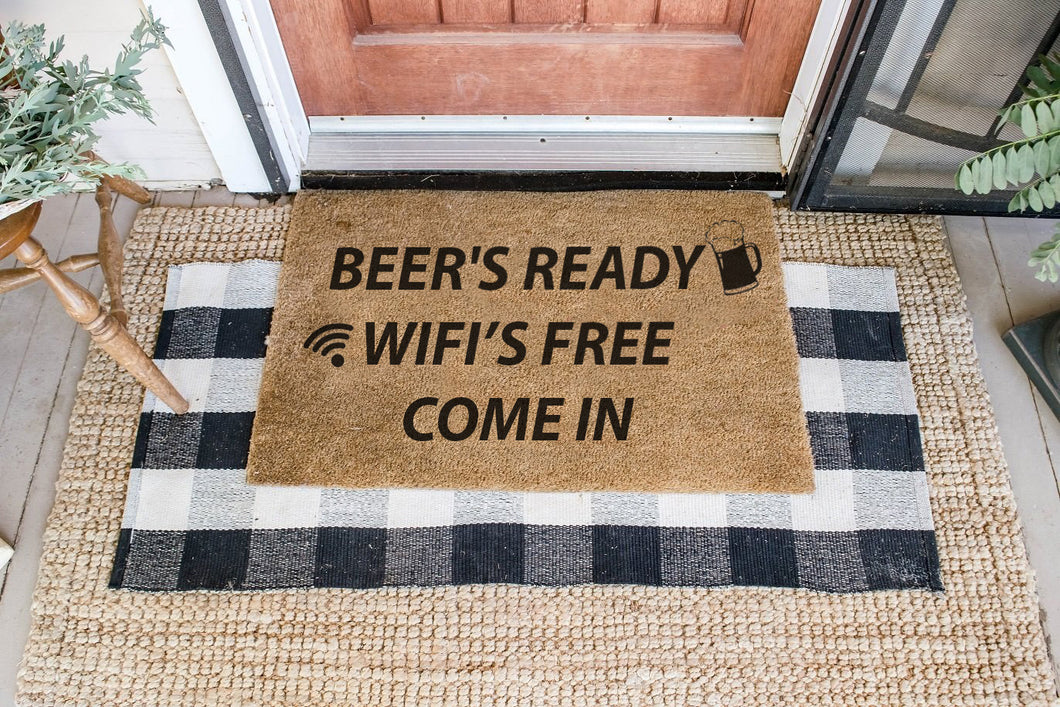 READY FOR BEER AND WIFI