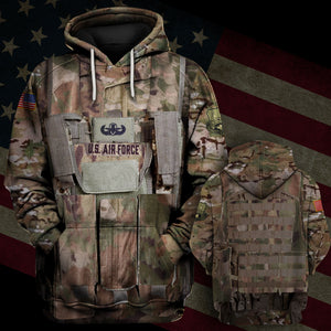 Air Force camo new Hoodie