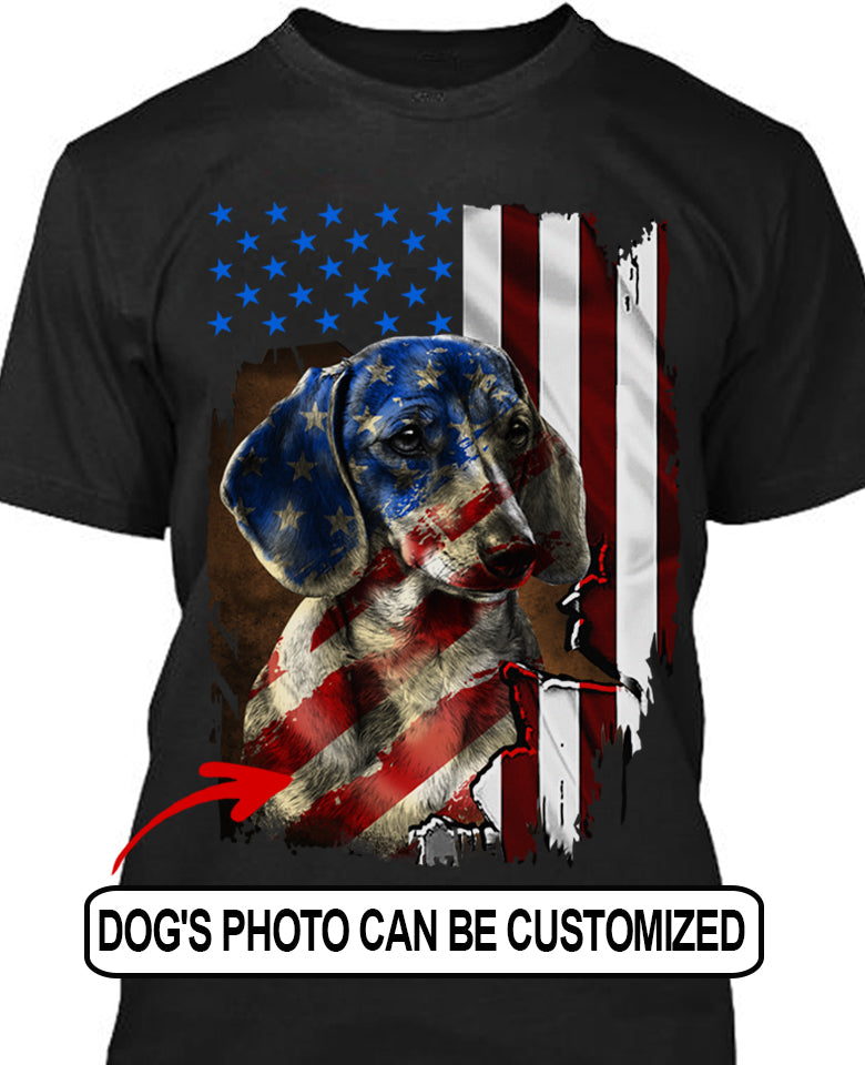 CUSTOMIZE DOG T-SHIRT
