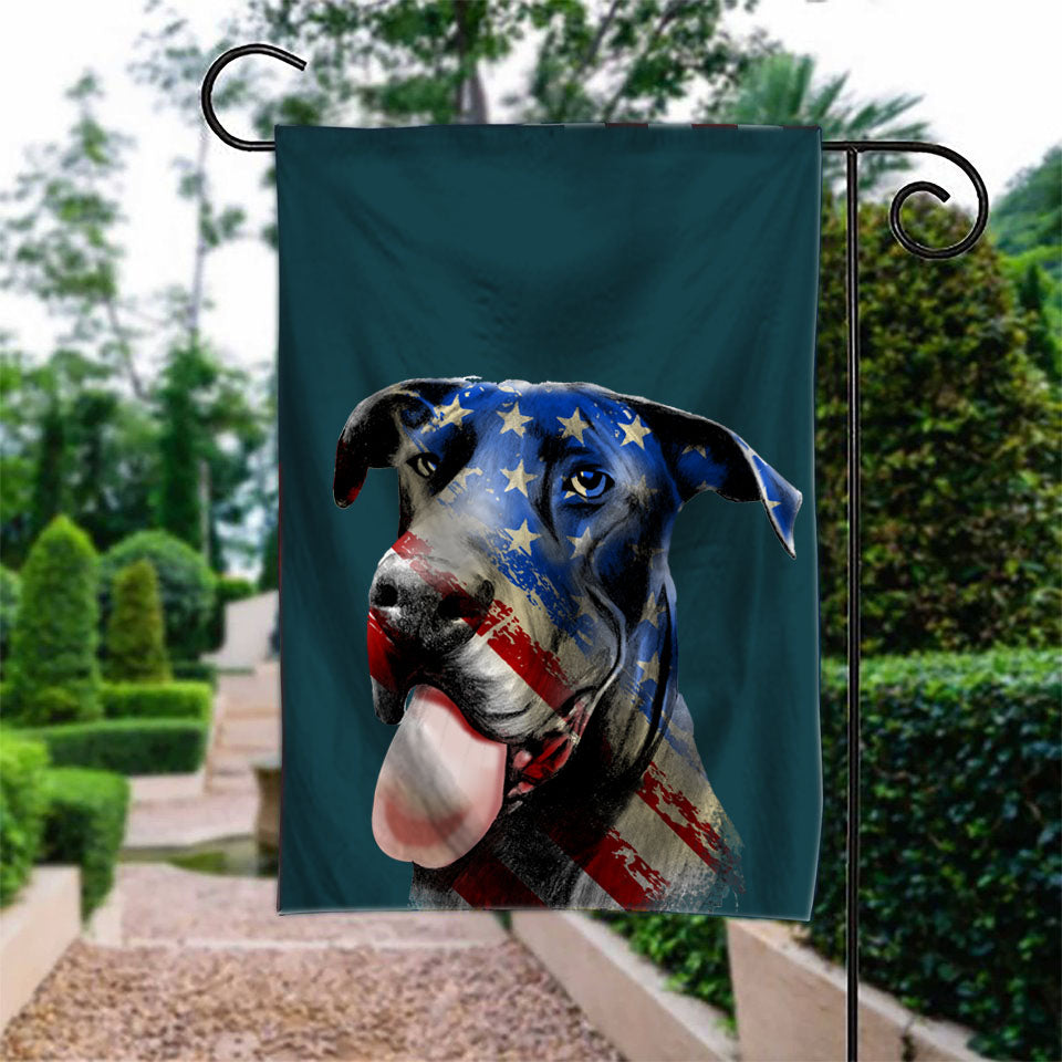 Dane Dog Garden Flag
