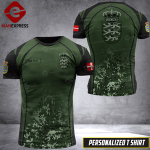 Personalized Danish Warriors 3D printed Tshirt OPM