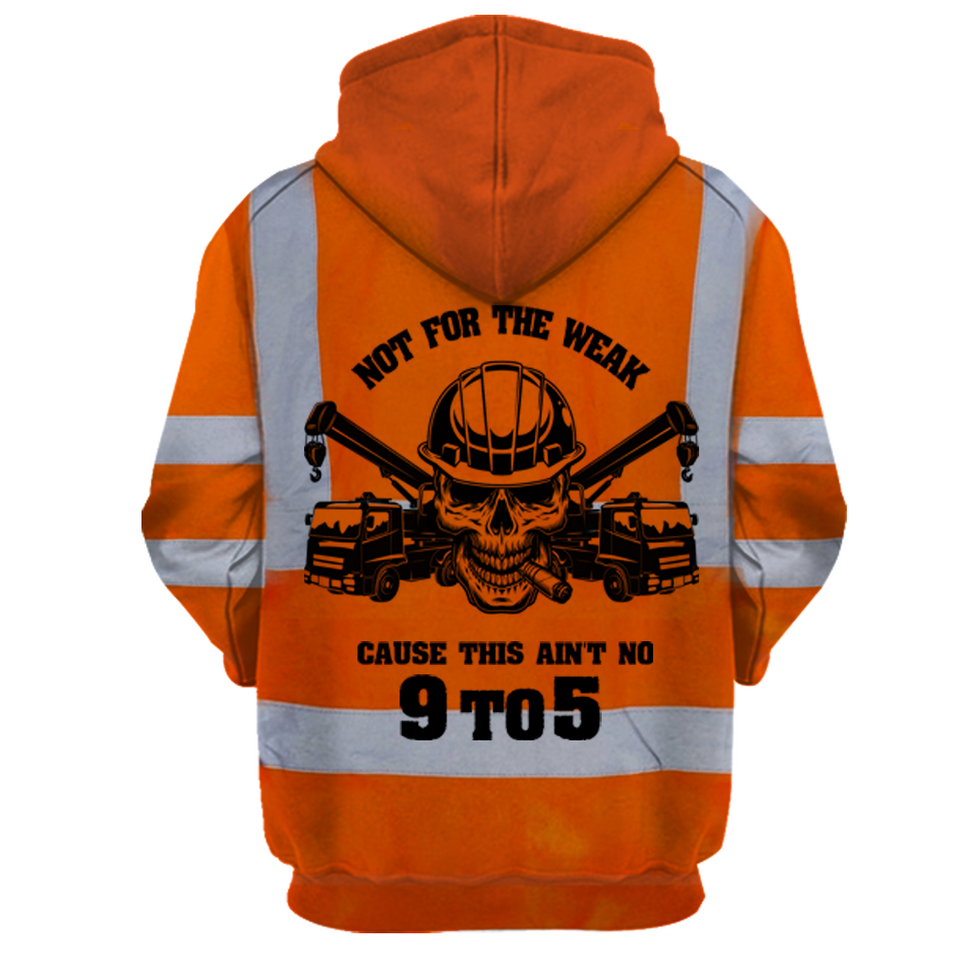 Tow Truck Hoodie Limited Edition