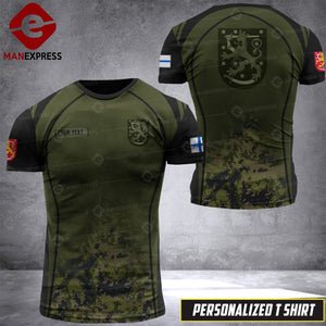 Personalized Finnish Warriors 3D printed Tshirt OPM