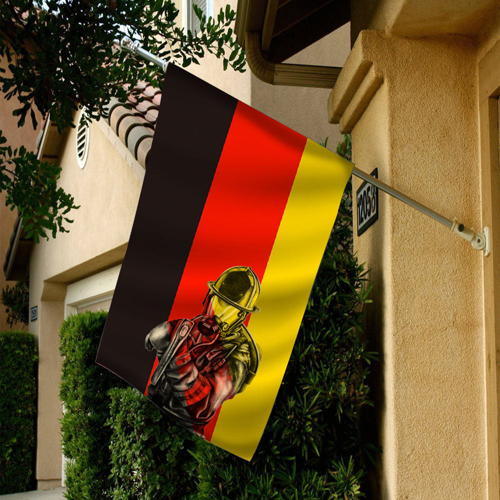GERMANY FIREFIGHTER FLAG 90 x 60 (cm)