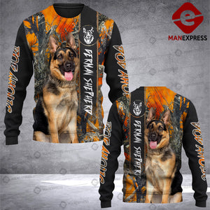 German Shepherd 3D printed Sweatshirt RHC