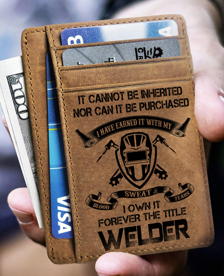 Welder Card Wallet