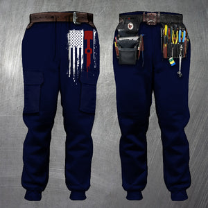 3D All Over Printed Joggers - MECHANIC