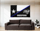 TEXAS SHEEPDOG FLAG 90 x 60 (cm)