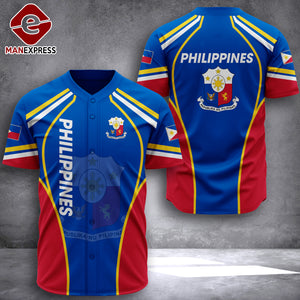 Philippines 3D printed Jersey shirt QUR