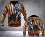 Pitbull 3D ALL OVER PRINTED HOODIE LMT