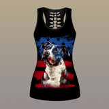 DOGS TANK TOP-PITBULL