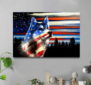 CANVAS- Husky USA
