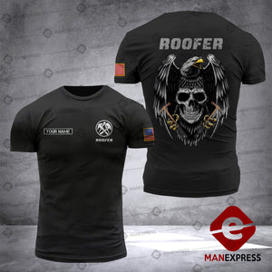 MTP ROOFER CUSTOMIZE T SHIRT SKU