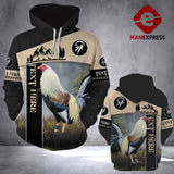 Personalized Rooster 3D printed hoodie CVK Chicken