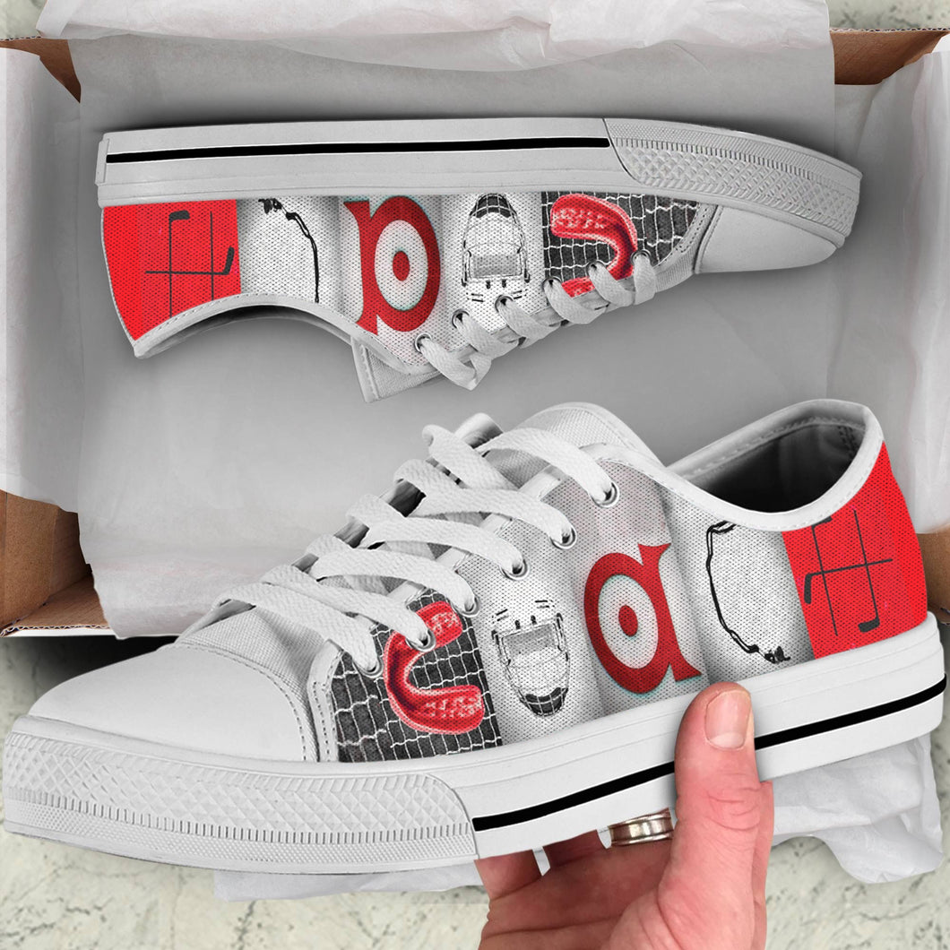COACH HOCKEY LOW TOP SHOES
