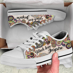 TEACH LOVE INSPIRE OFQ - LOWTOP SHOES