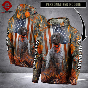 Personalized Shorthaired Pointer hoodie SOE