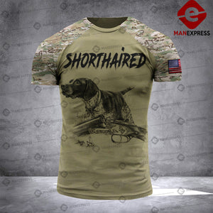 Shorthaired Pointer 3D printed Tshirt KTY