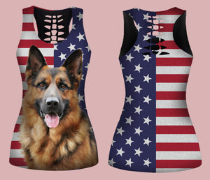 GERMAN SHEPHERD TANKTOP LIMITED EDITION